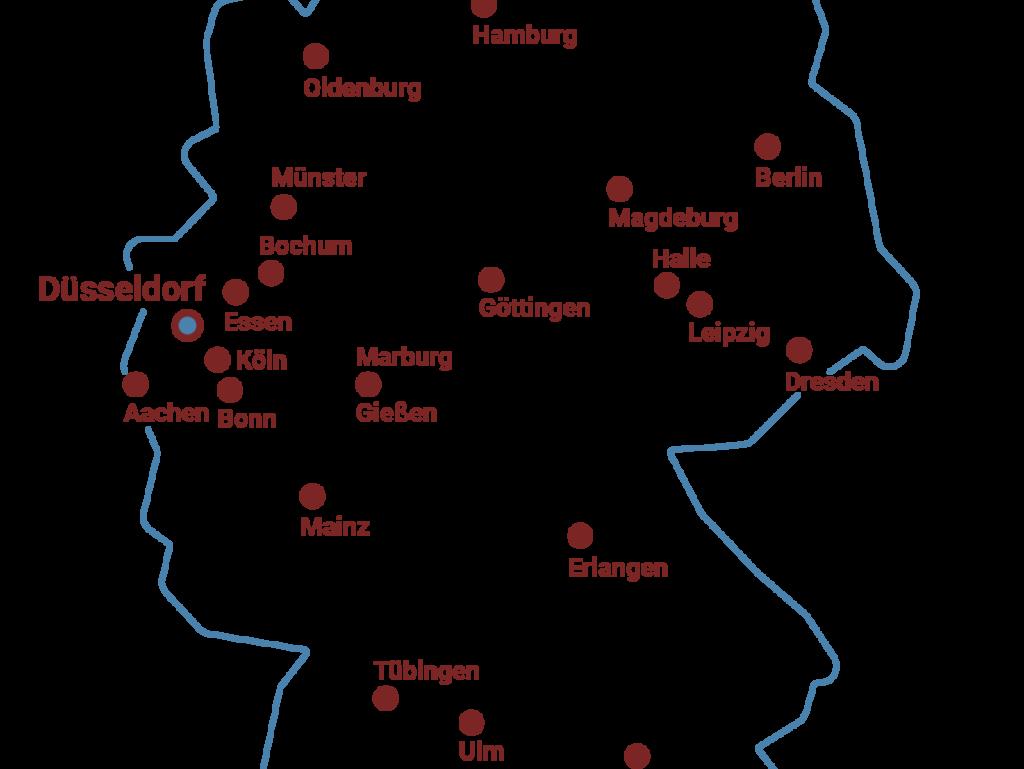 Arbeitsgruppen des Forschungsnetzwerks MethodCOV
